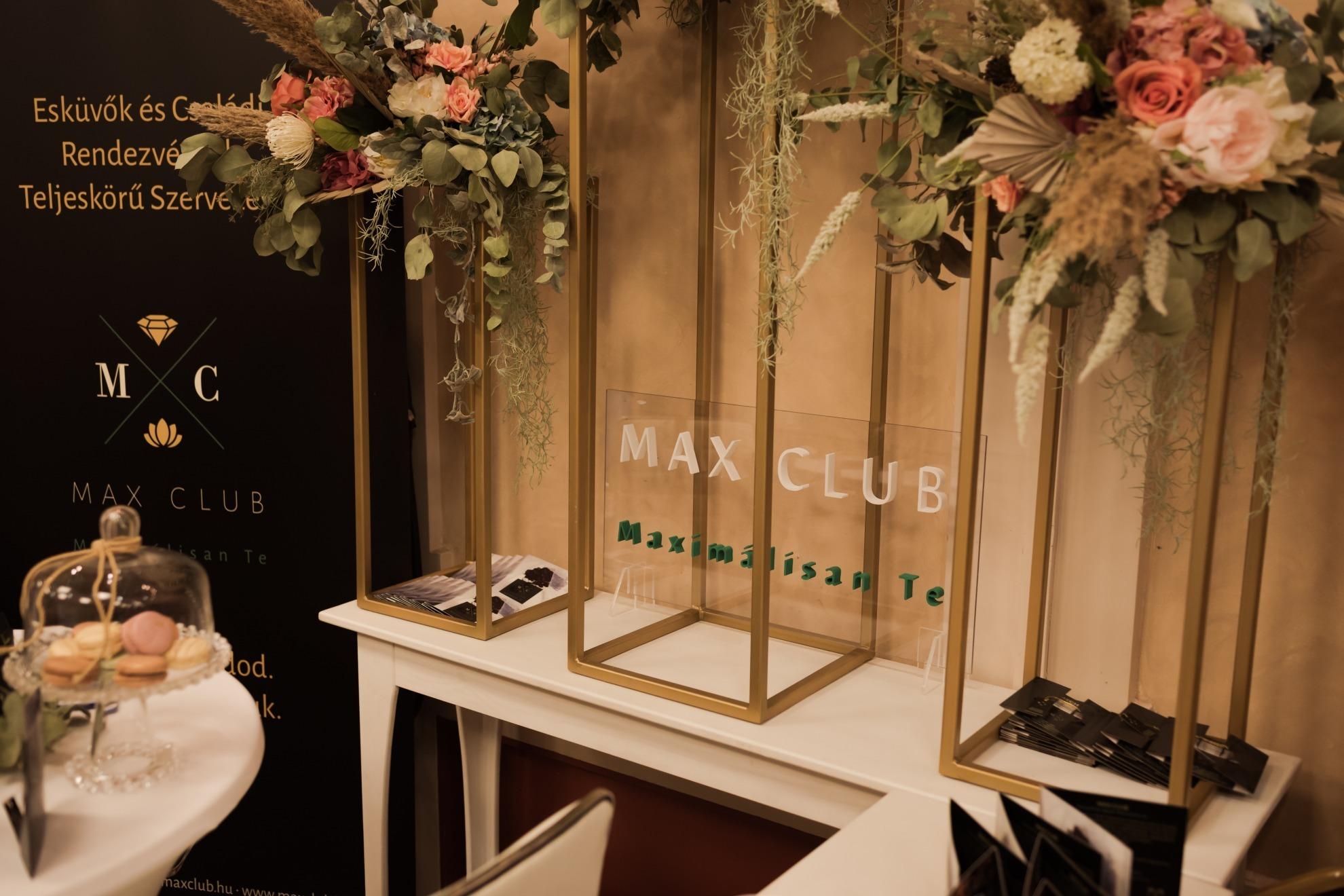 MAX CLUB   WeddingFactory esküvői szolgáltatók