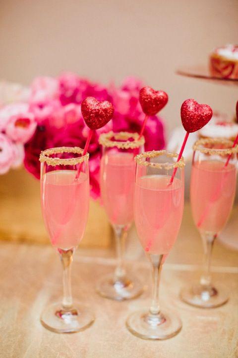 Rózsaszín esküvői dekoráció
