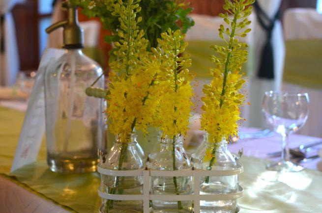 Rusztikus esküvői dekoráció