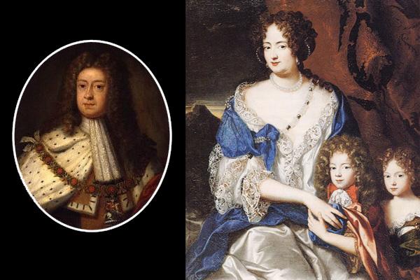 I. György házassági botrányai