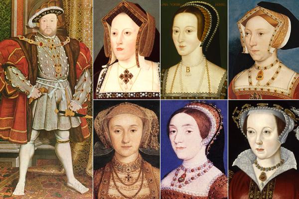 VIII. Henrik esküvői botrányai