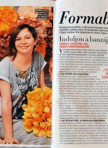 2014.02. - Joy magazin - Károlyi Krisztina Wedding Factory - Esküvői dekoratőr és virágkötő