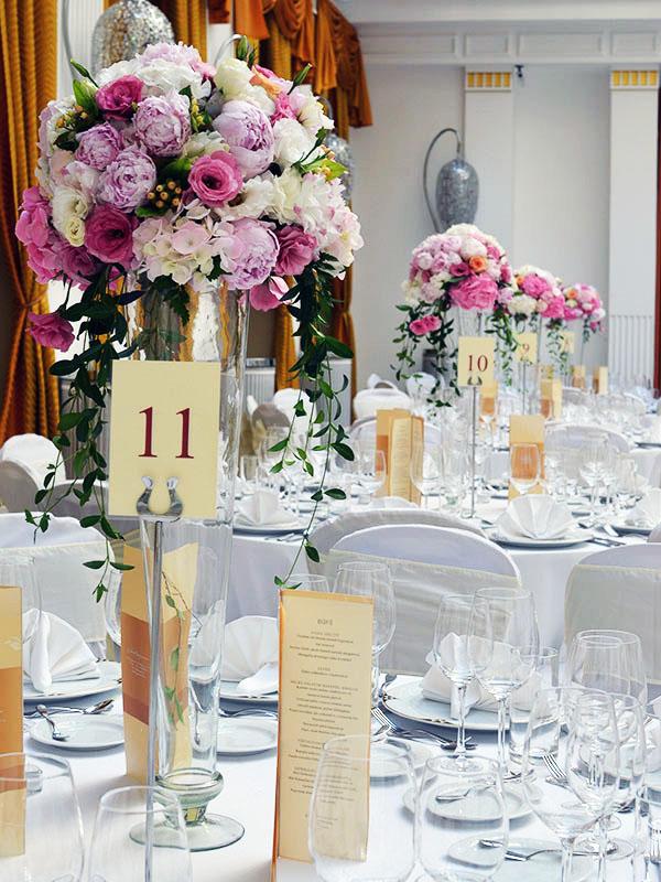 Klasszikus esküvői dekoráció - Wedding Factory