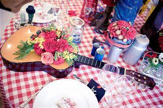 virágcsokor gitárban
