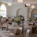 Fehér esküvői dekoráció