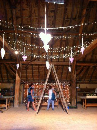Pajta esküvői helyszín
