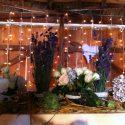 Fényháló esküvői dekoráció