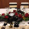 Hollywood rózsa asztaldísz