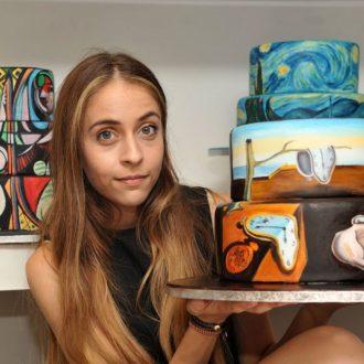 Dalí torta