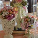 Rózsaszín vintage dekoráció