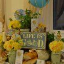 Tavaszi esküvői dekoráció