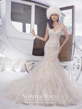 Sophia Tolli menyasszonyi ruha
