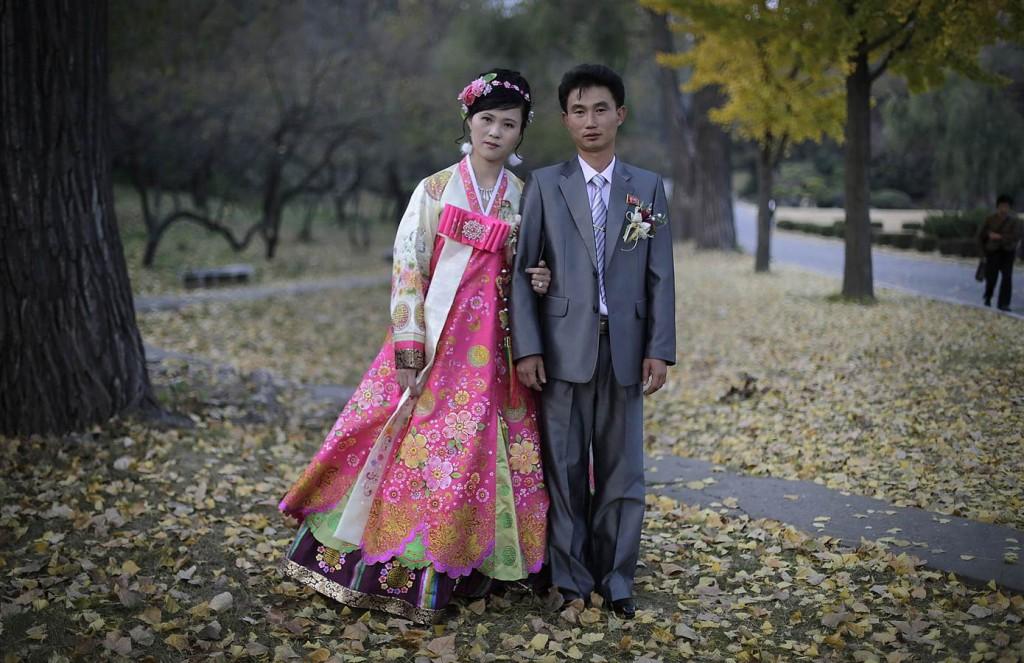 Észak-Korea esküvő