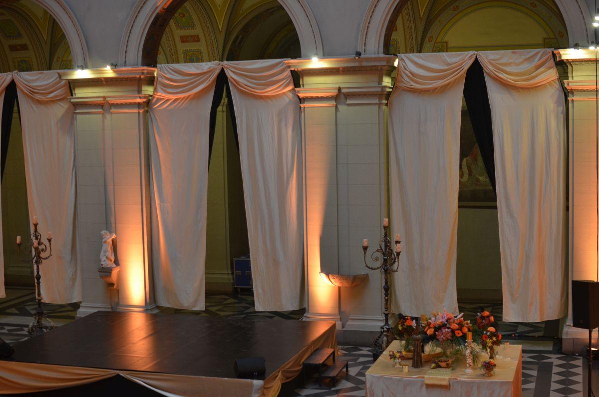Barokk esküvői dekoráció