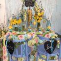 Tavaszköszöntő esküvői dekoráció