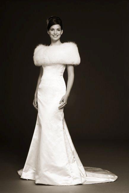 Prém galléros menyasszonyi ruha