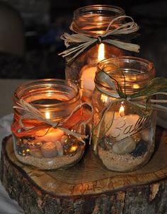 Befőttes üveg világítás