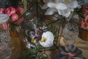 Orchidea köszönet ajándékkal
