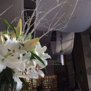 Liliom dekoráció