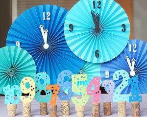 Kreatív évszám és óra