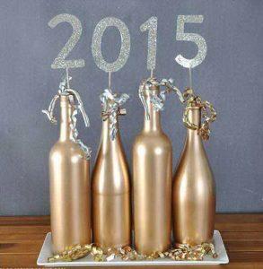 Aranyozott palackok