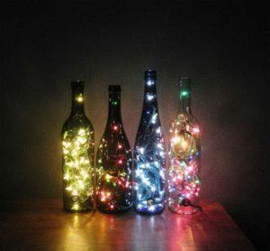 Világító üvegek