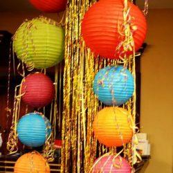 Lampion dekoráció