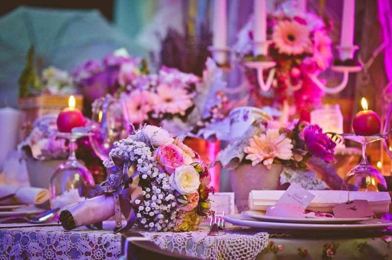 Vintage menyasszonyi csokor