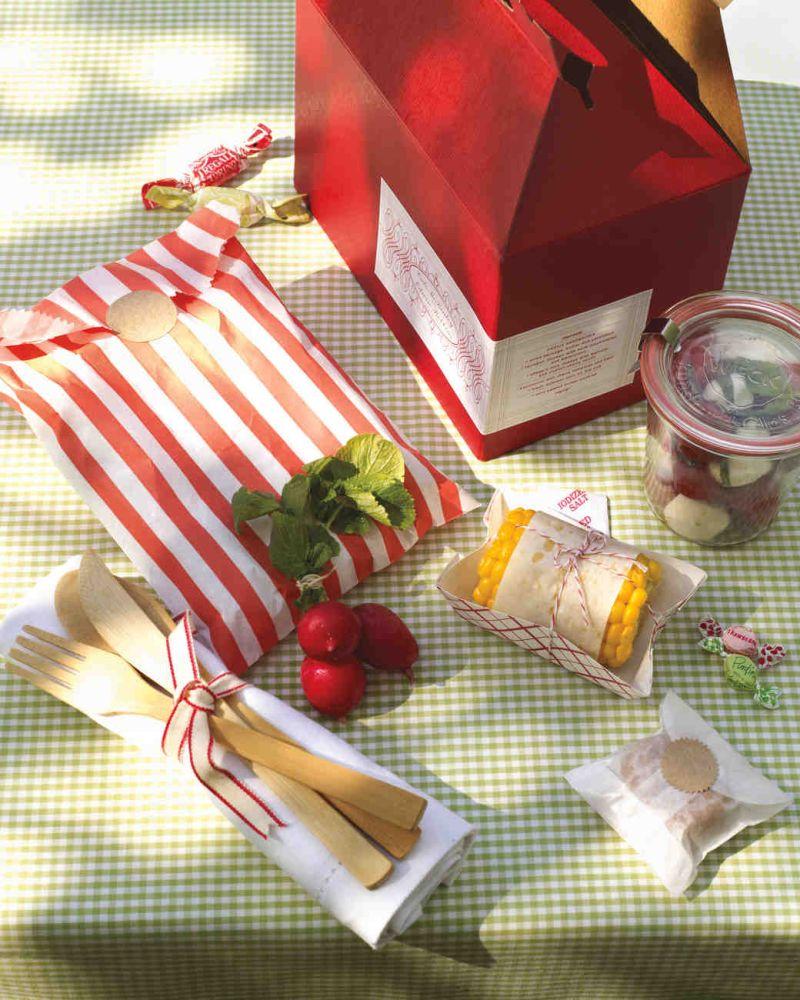 Piknik esküvői dekoráció