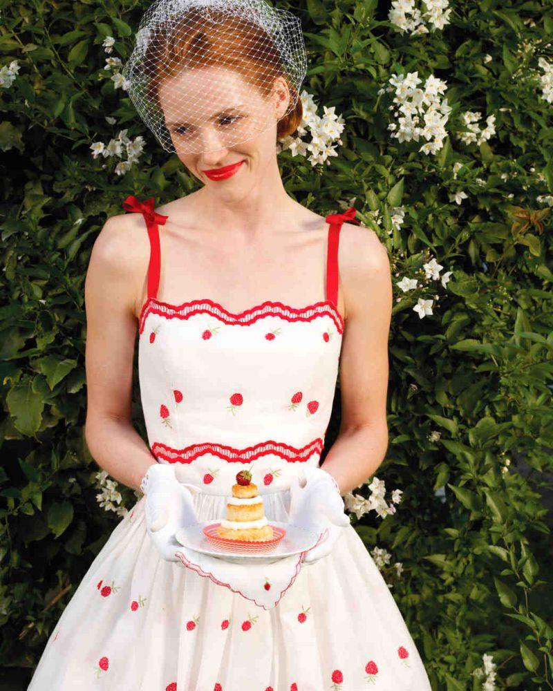Piknik menyasszonyi ruha