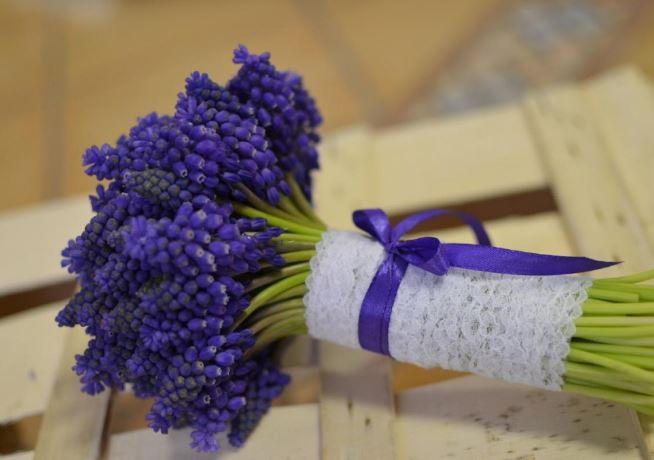 gyöngyikés menyasszonyi csokor