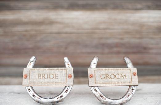 Lovas esküvői dekoráció