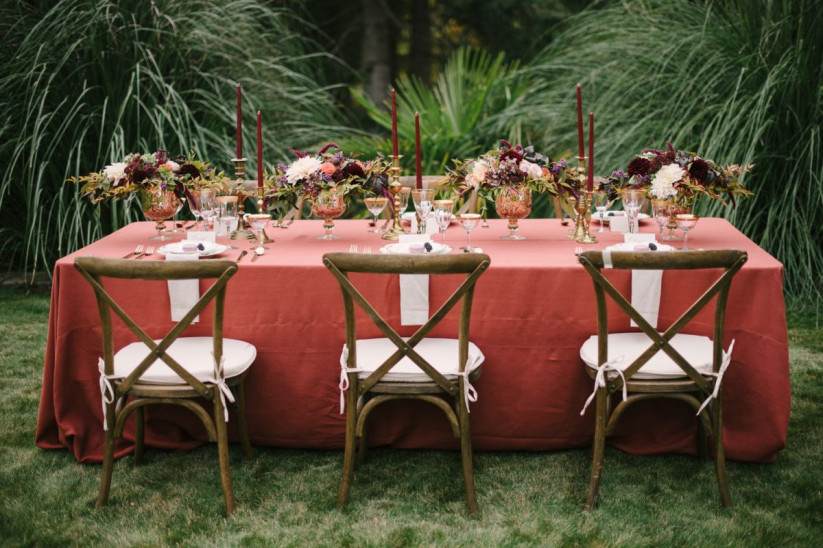 Esküvői trendek 2019-ben, dekorációk